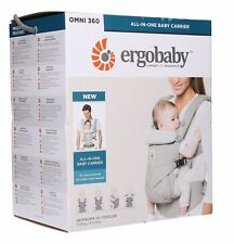 NEW! ERGOBABY OMNI 360 COTTON Ergo Baby Carrier Multi Position Sling. 6 COLORS