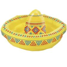 Kids Inflatable Sombrero 18 Inches Hat Childrens Blow Up Fancy Party Accessory