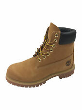 Timberland 6 Inch Premium Boots in Wheat Yellow Brown Size UK9