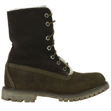 Timberland Af Authentics Shearling Zapatos Mujer Combat Botas de Invierno 36 37