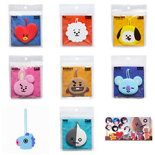 Official BT21 Silicon Luggage Tag Suitcase Label KPOP Bangtan Boys BTS Goods