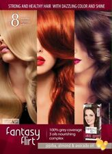 Fantasy Flirt Hair Dye 3 Oils, Up to 8 Weeks Lasting Effect, 100% Grey Coverage