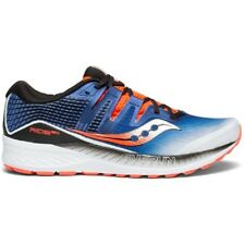 Saucony Scarpe Running - Ride Iso - Men – Mod. S20444-35 (Blue/White/Fluo Red)