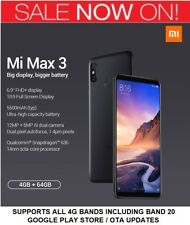 "Nuevo Sellado Global Xiaomi mi Max 3 6.99"" Snapdragon 636 Octa Core 4gb Ram +"
