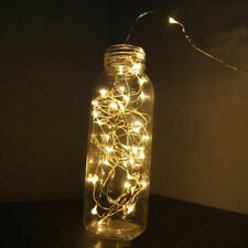 1~12M LED Battery Operated Copper Wire Leds String Xmas Decor light Waterproof