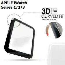 3D TEMPERED GLASS SCREEN PROTECTER 9H HARDNESS FOR APPLE WATCH IWATCH 38 42 MM