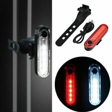USB Bicycle Bike Light LED Rear Tail Taillight Cycling Safety Warning Flash Lamp