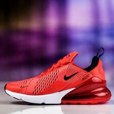 AUTHENTIC Nike Air Max 270 Red Habanero Red Black White  AH8050 601 men size