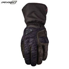Five Wfx Tech Impermeable de Invierno Negro Guantes para Motociclista Thinsulate
