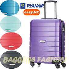 NEW EAGLE 32L Hard Cabin Hand Luggage Wheeled Suitcase Travel Bag Trolley ABS