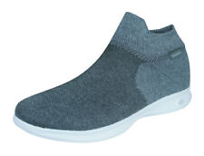 Mujer Skechers Go Step Lite Ultrasock 2.0 Zapatillas Confort Walking - Gris