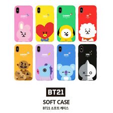 Official BT21 Phone Soft Case Cover Shockproof for iPhone Galaxy KPOP STAR BTS