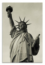 Statue of Liberty Canvas Close Up New York Portrait Wall Art Picture Home Decor