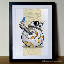 Star Wars BB-8 Art Print | Star Wars Poster | Star Wars Artwork | BB8 Print
