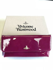 Vivienne Westwood  patent leather  clutch  bag new genuine made in Italy