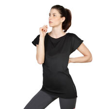Womens T-shirt Elle Sport - ES3129 Black Short Sleeves Training Top Dri-Activ