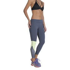 Womens Workout Tights Elle Sport - ES3447 Blue Fitness Gym Trousers Dri-Activ