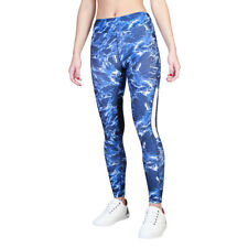 Womens Workout Tights Elle Sport - ES3020P Blue Fitness Gym Trousers Dri-Activ