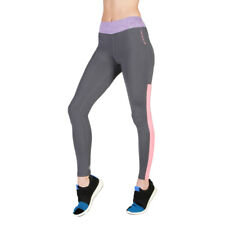 Womens Tight Trousers Elle Sport - ES2599 Grey Fitness Gym Leggings Dri-Activ
