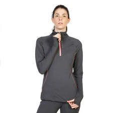 Womens T-Shirt Elle Sport - ES2322 Grey Long Sleeves Fitness Training Dri-Activ