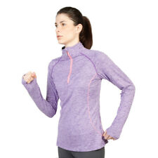 Women T-Shirt Elle Sport - ES2322 Purple Long Sleeves Fitness Training Dri-Activ