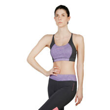 Womens Padded Bra Elle Sport - ES2650 Purple Fitness Training Gym Top Dri-Activ