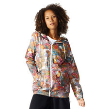 Women's adidas Fugiprabali Windbreaker Full Zip Hooded Jacket Windcheater