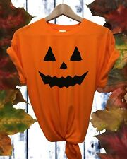 Pumpkin Halloween Unisex Childrens T shirt FDC
