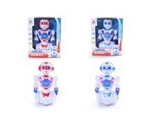 Battery Operated Robot Toy With Lights & Sound Robot