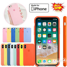 Genuine Official Soft Silicone Case for iPhone XS Max/XR/8/7/6s Plus Boxed Cover