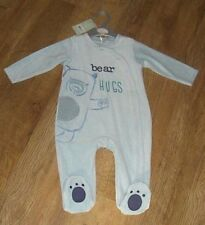 Ex store velvet to the touch sleepsuit sleeper all in one PICK YOUR SIZE New