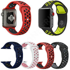 For Apple Watch Replacement Silicone Sport Band Strap Series1 2 3 4 Nike+ iWatch
