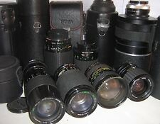 CAMERA LENS and ZOOM LENS 1960/2010 ~ click HERE to browse or order