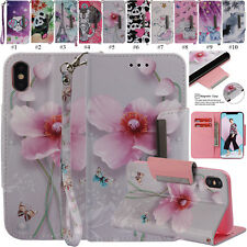 Cute Magnetic PU Leather Stand Case Flip Cover For Apple iPhone 6s 7 8 XR XS Max