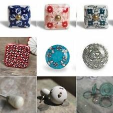 Drawer Pull Door Knob Cabinet Cupboard Handle Ceramic Bone NKUKU