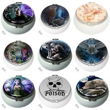 Nemesis Now Trinket Boxes - Annes Stokes, Lisa Parker Owl Cats Wolfs Fairy 5.5cm