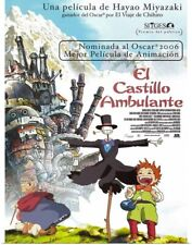 Poster Print Wall Art entitled Howls Moving Castle (2004)