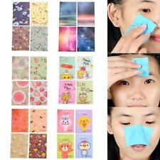·50 Sheets/Box Make Up Oil Absorbing Blotting Facial Face Clean Paper Beauty