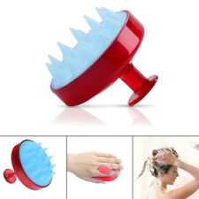 Spa Massage Brush Silicone Head Body Shampoo Scalp Comb For Shower Hair Washing
