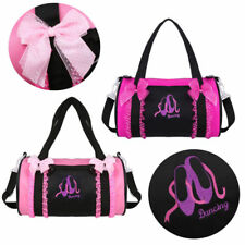 Personalised Women Girls Ballet Shoulder Gymnast Junior Dance Bag School Gym Kit