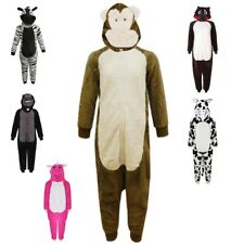Kids Girls Boys Onesiee Animal Monkey Sleepwear One Piece Halloween Costume