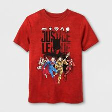 NEW Boys' Justice League Short Sleeve Graphic T-shirt  Size L