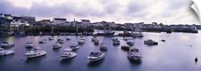 Wall Decal entitled Boats in the sea, Quiberon, Morbihan, Brittany, France