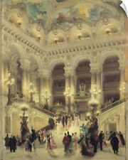 Wall Decal entitled The Staircase of the Opera, 1877