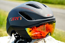 Giro Vanquish Mips Adult Helmet Transformair Aero Road Bike Magnetic Visor Fire
