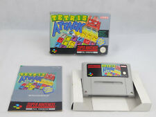 Tetris Attack Super Nintendo SNES Boxed PAL