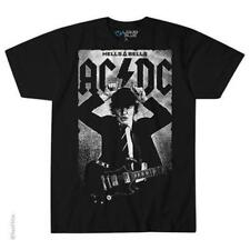 OFFICIAL LICENSED - AC/DC - ANGUS POSTER T SHIRT ROCK HELLS BELLS IMPORT