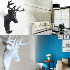 Animal Deer Stags Head Hanger Rack Hook Wall Mount Home Living Room RASK