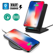 Qi Charger for iPhone X / 8/8 Plus Samsung S9 Fast Charge Wireless Charging Pad