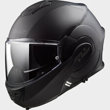 LS2 CASCO URBAN COMMUTER VALIANT FF399 NOIR MATT BLACK MODULAR
